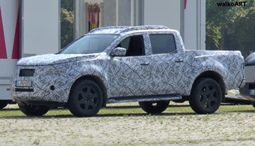 Mercedes-Benz Ute Spied In Camo