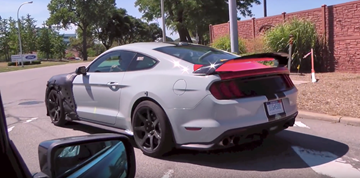 Ford's Next GT500/Mach 1 Prototype Seen Roaming Streets