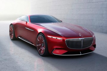 Vision Mercedes-Maybach 6 Coupe Concept