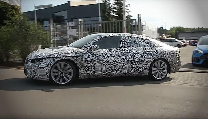 2017 Volkswagen CC - Test Mule - Spied