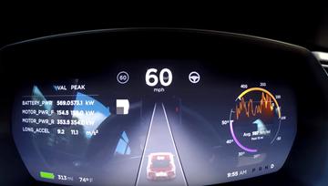 Tesla Model S P100D - Ludicrous+ Mode