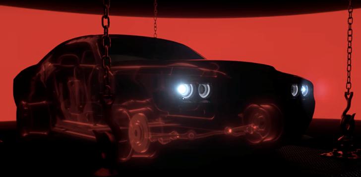 2017 Dodge Challenger Demon Teaser