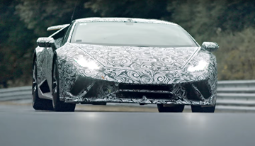 2017 Lamborghini Huracan Performante - Teaser