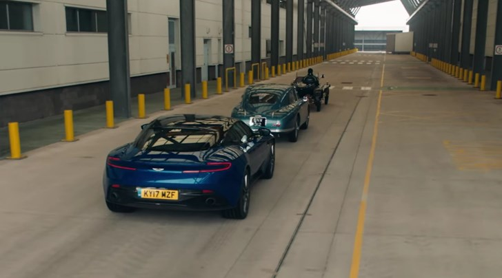 Aston Martin Celebrates New St. Athan Facility