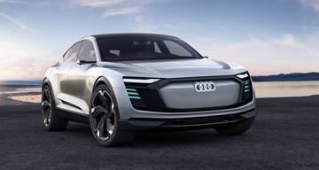 Audi E-Tron Spotted In Hamburg Carpark