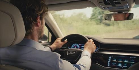 Audi A8 Sneak Preview: Audi AI traffic jam pilot