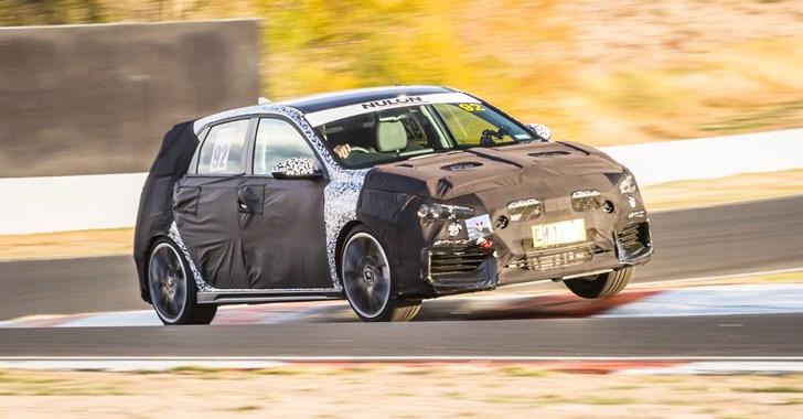 Hyundai's i30N Performance Hatch Takes On Bathurst
