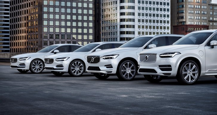 Volvo To Be Totally Electrified By 2019