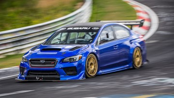 Subaru WRX STI Type RA NBR Special Breaks Nurburgring Record