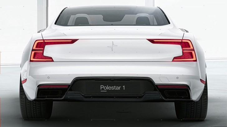 "Polestar 'No.1' Rear Revealed: ""No Bullshit"""