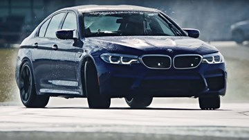 BMW M5 - Drift World Record