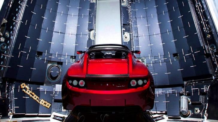 Elon Musk's Tesla Roadster Is Now Near Mars