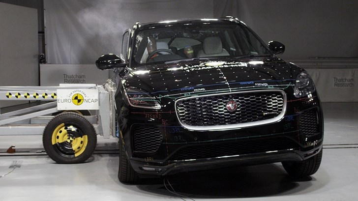 Jaguar E-Pace Gets Full 5-Star ANCAP Rating