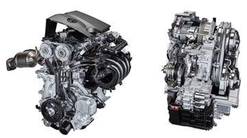 Toyota 2.0-liter Dynamic Force Engine, a New 2.0-liter Direct-injection, Inline 4-cylinder Gasoline Engine