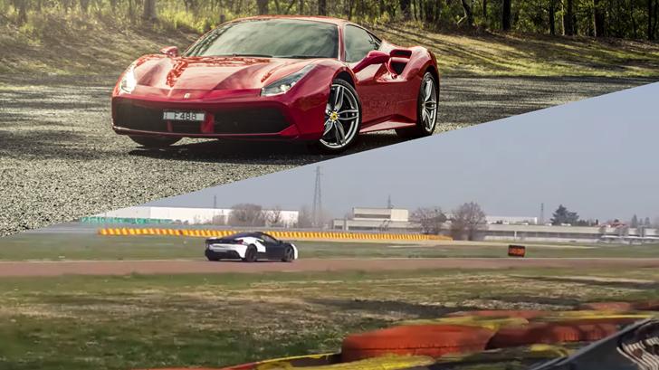 Ferrari Plug-In Hybrid Slinks Silently Round Fiorano