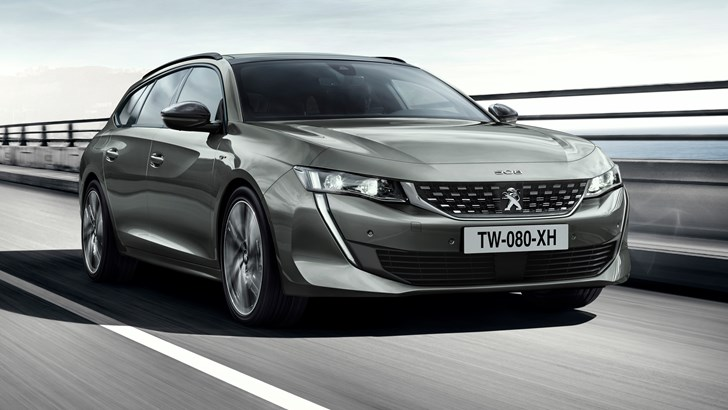 2019 Peugeot 508SW Revealed, Looking Spectacular