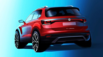 Volkswagen Teases New T-Cross Compact SUV