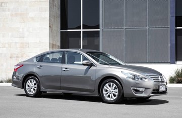 2014 NISSAN ALTIMA 4D SEDAN ST