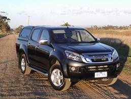 2014 ISUZU D-MAX CREW CAB UTILITY LS-U HI-RIDE 4X4