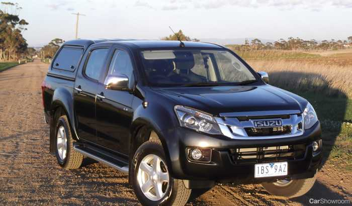 review - isuzu d-max ls-u review and road test