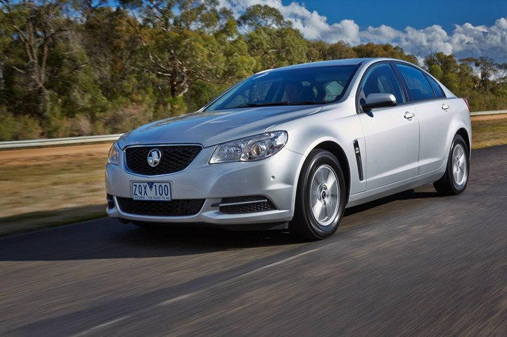 2014 HOLDEN COMMODORE 4D SEDAN EVOKE