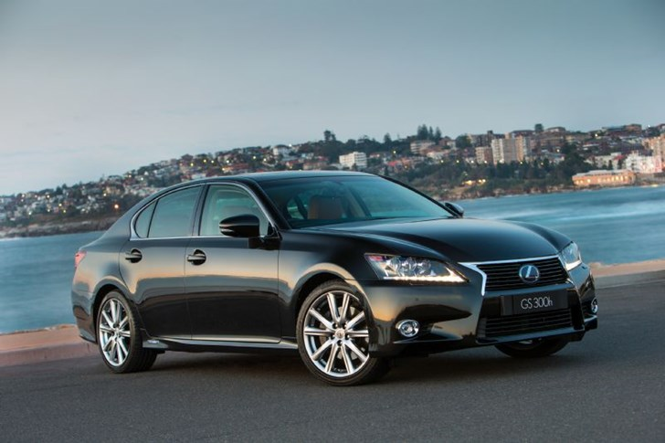 2014 LEXUS GS300H 4D SEDAN HYBRID LUXURY