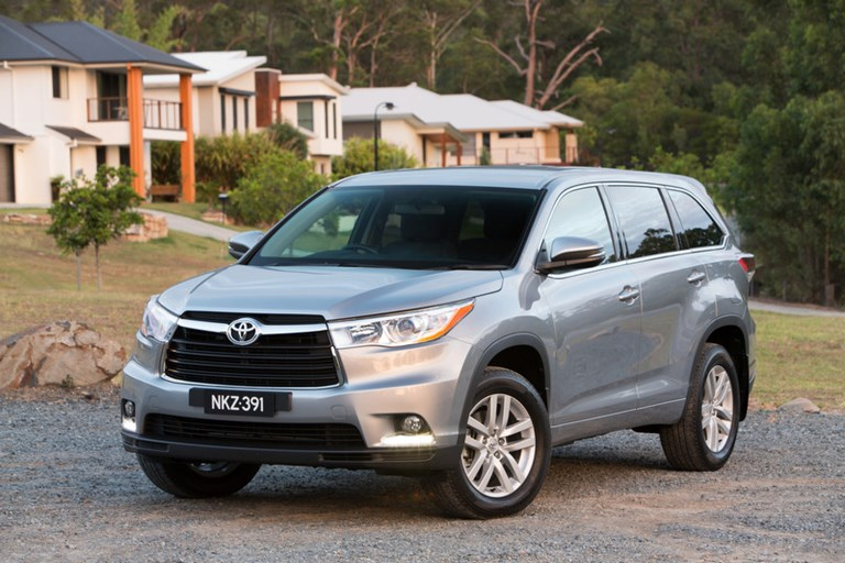 toyota kluger latest prices best deals specifications