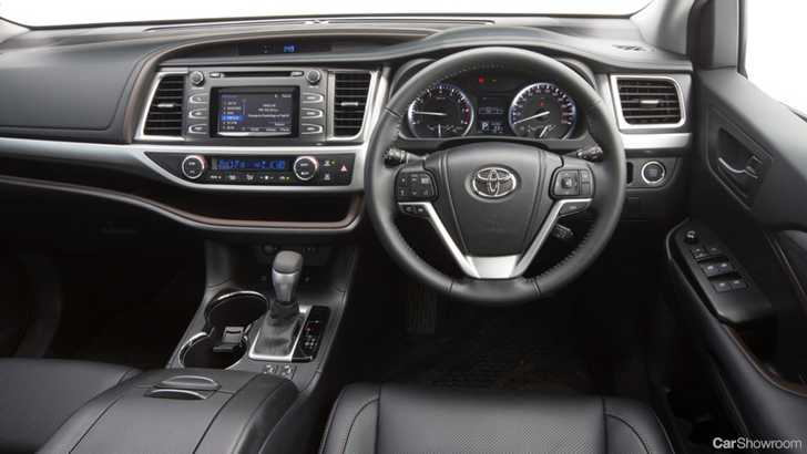 Review 2014 Toyota Kluger Review And First Drive