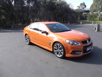 2014 HOLDEN COMMODORE 4D SEDAN SS-V