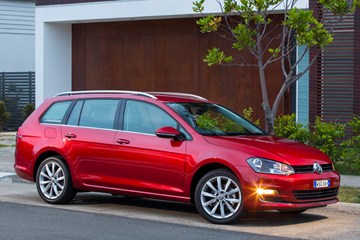 2014 VOLKSWAGEN GOLF 4D WAGON