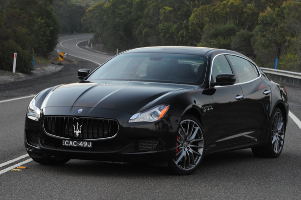 review 2014 maserati quattroporte gts review and first drive. Black Bedroom Furniture Sets. Home Design Ideas