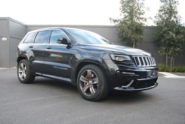 2013 JEEP GRAND CHEROKEE SRT 8 4X4
