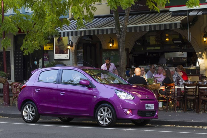 Review Mitsubishi Mirage Ls Review And Road Test 1