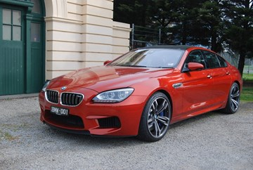 2013 BMW M6 4D COUPE GRAN COUPE