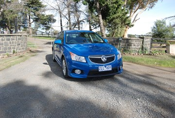 2013 HOLDEN CRUZE 5D HATCHBACK SRI