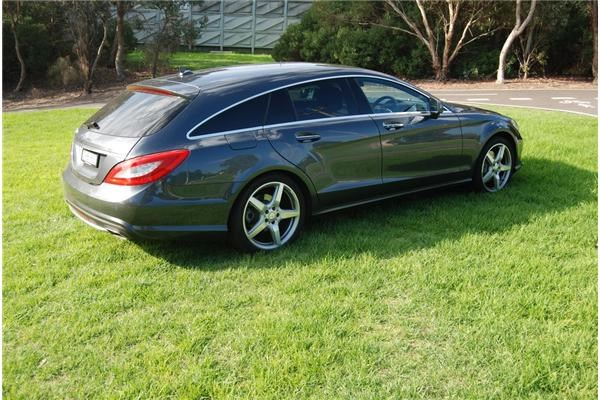 Review Mercedes Benz Cls 350 Shooting Brake Review And