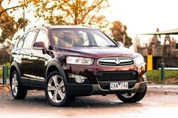 2013 HOLDEN CAPTIVA 4D WAGON 7 LX 4X4