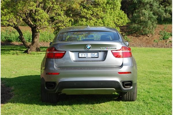 2012 BMW X6 4D COUPE M50D