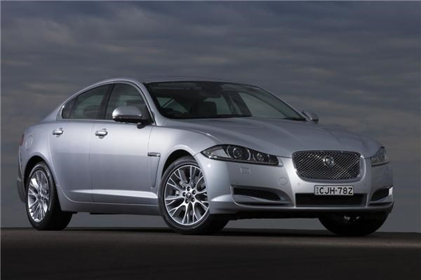 2012 JAGUAR XF 4D SEDAN