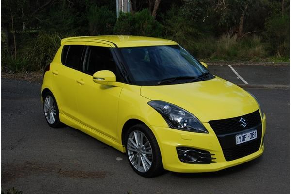 2012 SUZUKI SWIFT 5D HATCHBACK SPORT