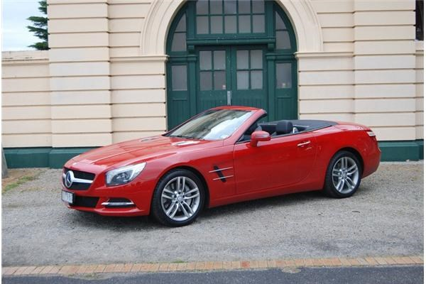 2012 MERCEDES-BENZ SL350 2D CONVERTIBLE NIGHT EDITION
