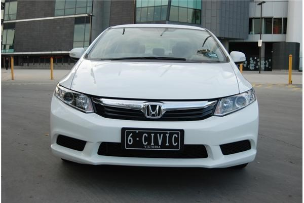 2012 HONDA CIVIC 4D SEDAN