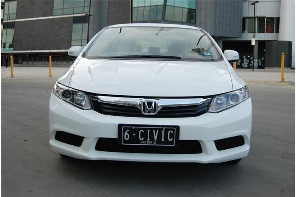 2012 HONDA CIVIC 4D SEDAN