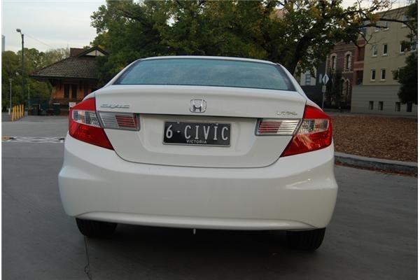 2012 HONDA CIVIC 4D SEDAN SPORT