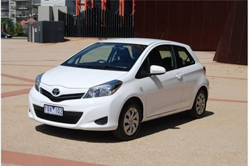 2012 TOYOTA YARIS 3D HATCHBACK YRS