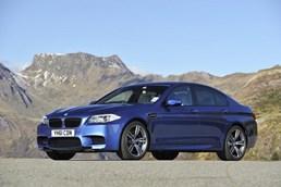 2012 BMW M5 4D SEDAN