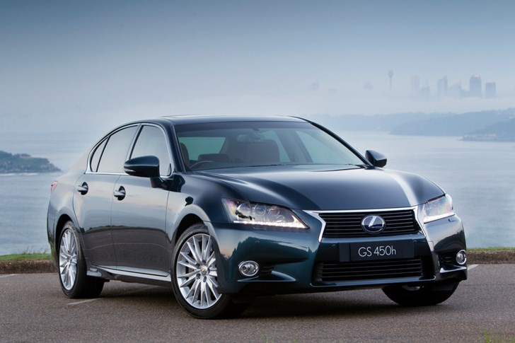 2012 LEXUS GS450H 4D SEDAN HYBRID