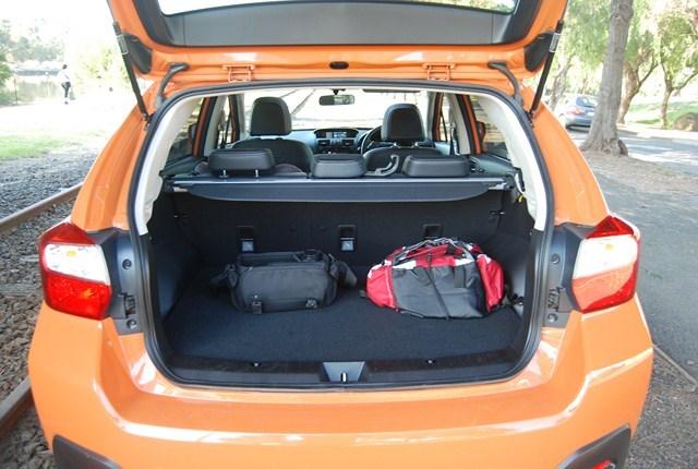 2012 SUBARU XV 4D WAGON