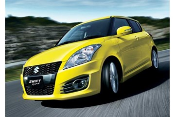 2012 SUZUKI SWIFT 5D HATCHBACK