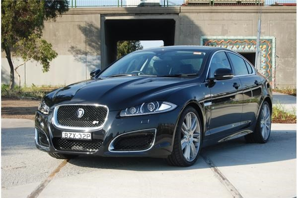 2012 JAGUAR XF 4D SEDAN R 5.0 SV8